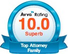 Avvo 10 Rating Badge
